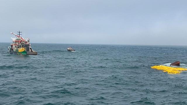 Moritanya'da Türk balıkçı gemisi battı