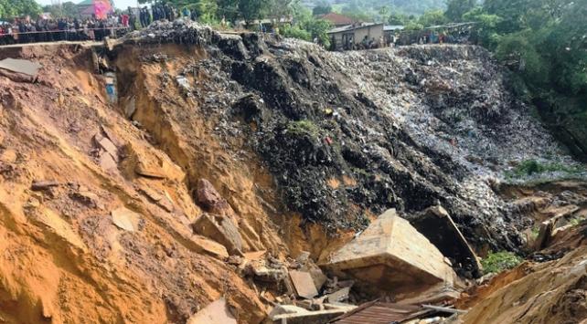 Kongo Demokratik Cumhuriyetinde sel ve heyelan: 41 ölü