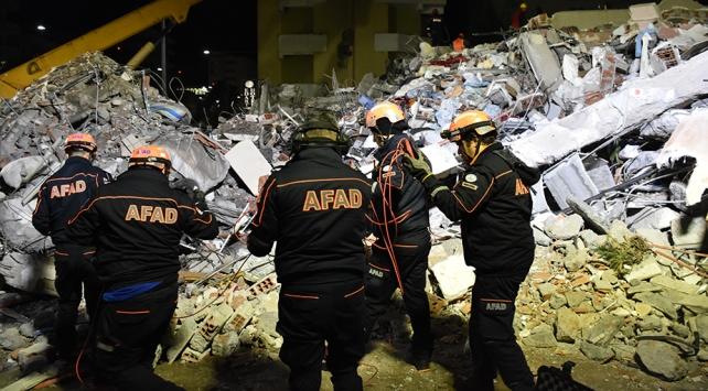 AFAD Arnavutlukta arama kurtarma çalışmalarını titizlikle sürdürüyor