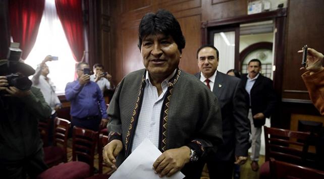 Morales: Interpol mevcut olmayan suçlar nedeniyle beni arıyor