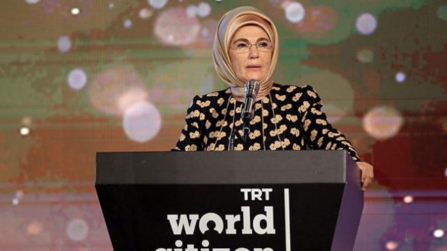 Emine Erdoğan: En cömert ülke olmak, başkalarının dertleriyle dertlenmektir