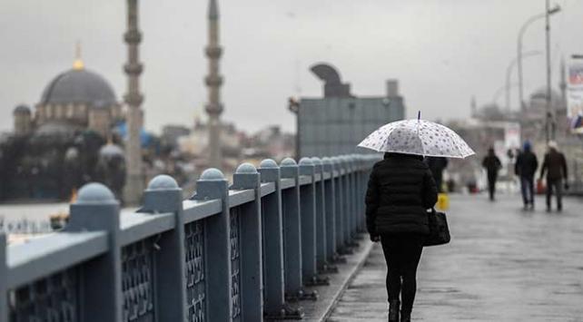 Marmara Bölgesinde kuvvetli sağanak bekleniyor