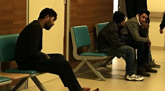 Yunanistanda darbedilen düzensiz göçmenler Türkiyede tedavi ediliyor