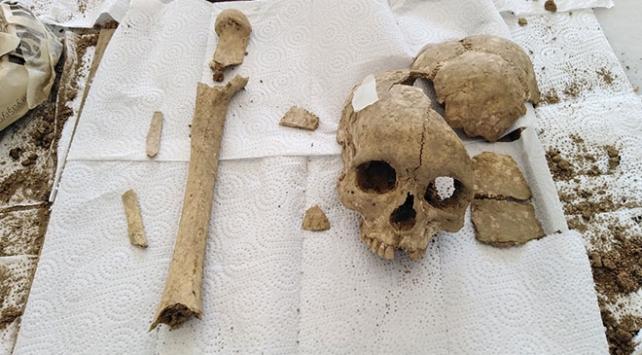 Şapinuva Antik Kentinde 3 bin 500 yıllık kafatası bulundu