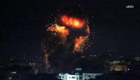 İsrail, Hamas'a ait askeri gözetleme noktasını vurdu