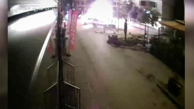Adana'daki bombalı saldırıyla ilgili yeni görüntüler ortaya çıktı