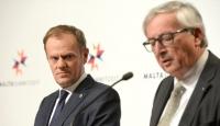 Görevi biten Juncker ve Tusk enkaz devretti