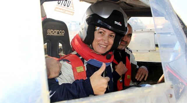 Off-road parkurlarının kadın pilotları