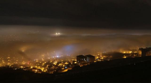 Kahramanmaraşta yoğun sis hayatı olumsuz etkiledi