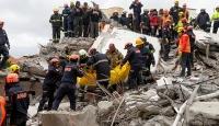 Arnavutluk'taki depremzedeler Türkiye'ye minnettar