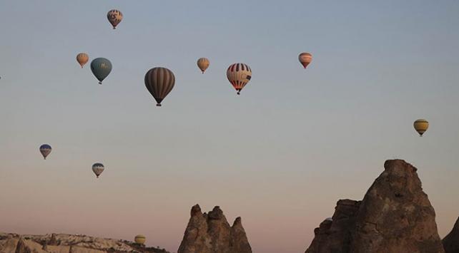 Kapadokyada balon turları iptal edildi