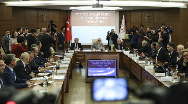 Asgari Ücret Tespit Komisyonunun ilk toplantısı sona erdi