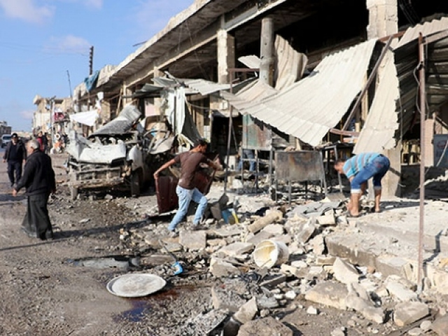 İdlibde hava saldırıları sürüyor: 14 ölü, 27 yaralı