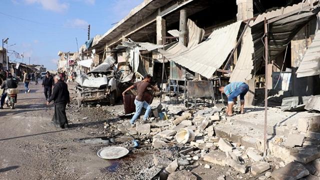 İdlib'de hava saldırıları sürüyor: 14 ölü, 27 yaralı