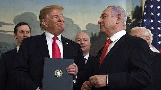 Netanyahu: Trump ile Ürdün Vadisinin ilhakını konuştum