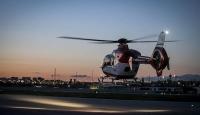 Helikopter ambulanslar 32 bine yakın hasta taşıdı