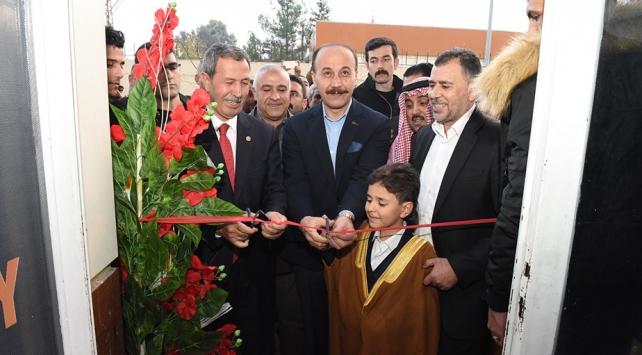 Terörden temizlenen Tel Abyadda ilk şirket açıldı