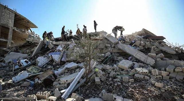 İdlibe düzenlenen hava saldırılarında 6 kişi öldü, 20 kişi yaralandı