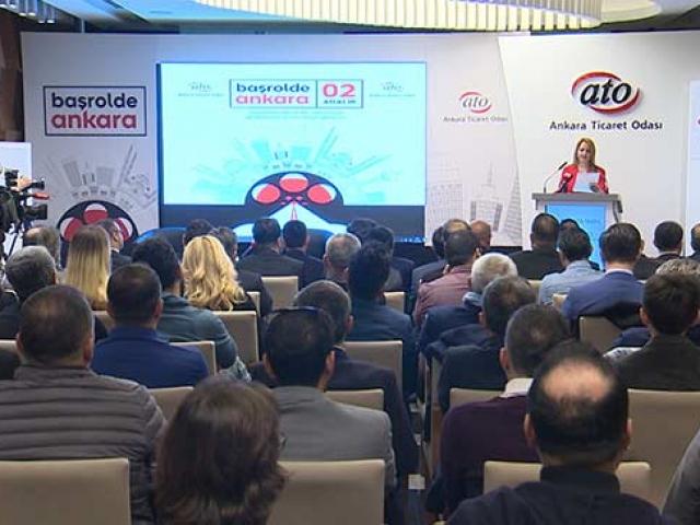 Film ve dizi sektörünün temsilcileri Ankarada buluştu