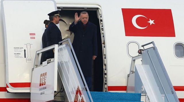 Cumhurbaşkanı Erdoğan İngiltereye gidiyor
