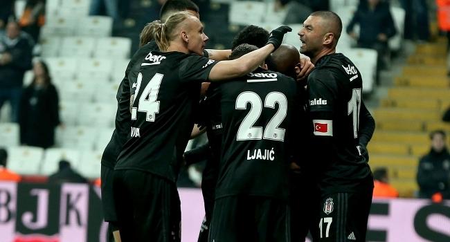 Beşiktaşın zirve yürüyüşü sürüyor
