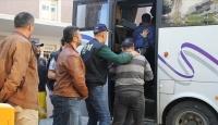 Samsun'da 11 organize hırsızlık şüphelisi yakalandı