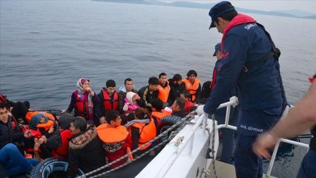 Çanakkalede 95 düzensiz göçmen yakalandı
