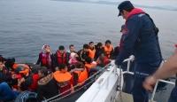 Çanakkale'de 95 düzensiz göçmen yakalandı
