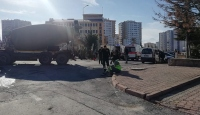Kayseri'de beton mikseri halk otobüsüne çarptı: 16 yaralı