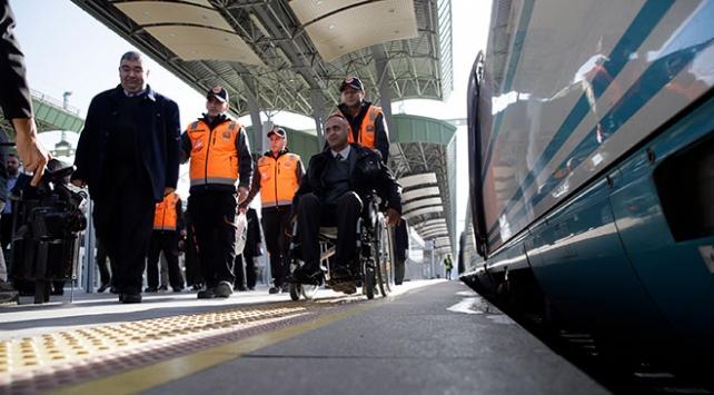 YHT 5 yılda yaklaşık 1,5 milyon engelli yolcu taşıdı
