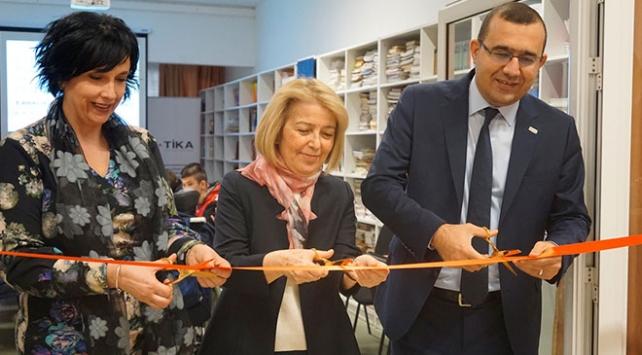 TİKA Karadağda engelli öğrenciler için kütüphane açtı