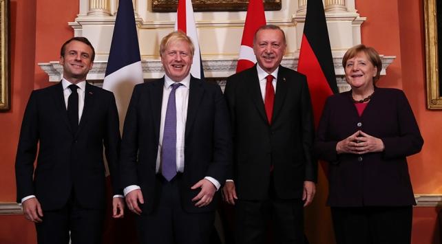 Londrada Suriye konulu Dörtlü Zirve sona erdi