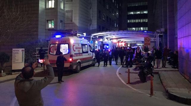 Bursada kavga ihbarına giden polis memuru başından vuruldu