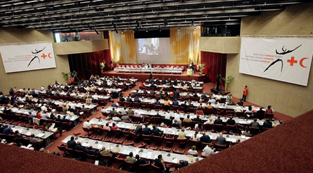 Uluslararası Kızılhaç ve Kızılay Dernekleri Federasyonunda görev değişimi