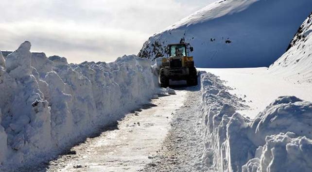 Van ve Muşta kardan kapanan 45 yol ulaşıma açıldı
