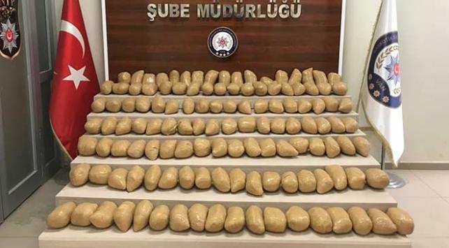 Van merkezli operasyonda 900 kilo uyuşturucu ele geçirildi