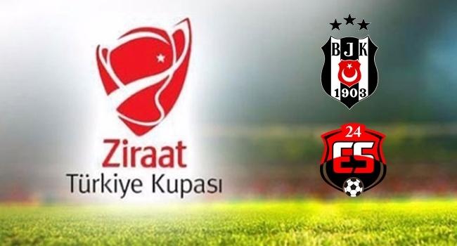 Beşiktaş'ın konuğu Anagold 24Erzincanspor