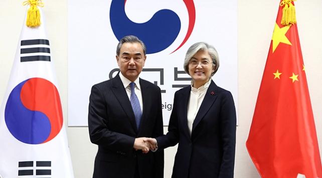 Çin Dışişleri Bakanı Wang Yi temaslarda bulunmak üzere Güney Korede