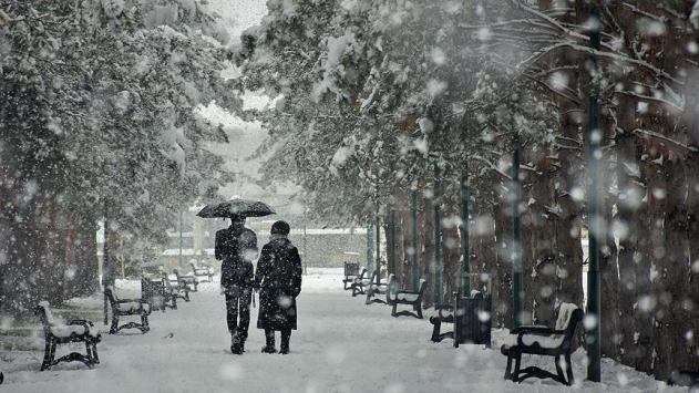 Malatya ile Kahramanmaraş için kuvvetli kar yağışı uyarısı