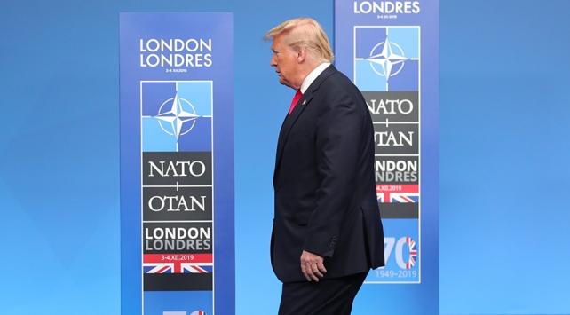 Trump NATO Zirvesinin ardından yapmayı planladığı basın toplantısını iptal etti