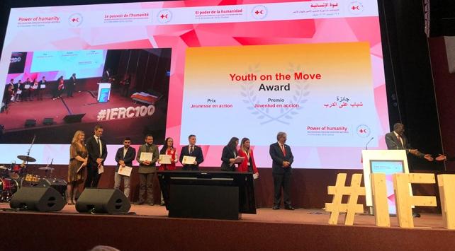 Genç Kızılaya uluslararası birincilik ödülü