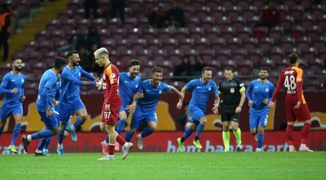 Galatasaray'a kupada büyük şok