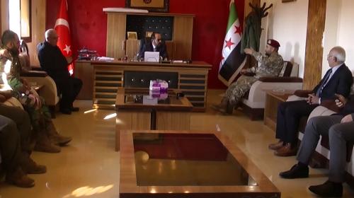 Suriye Geçici Hükumeti halka Rasulayn'a dönme çağrısı yaptı