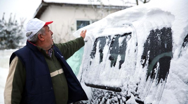 İç kesimlerde bir çok kente mevsimin ilk karı düştü