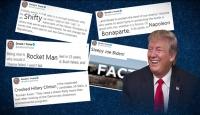 Trump'ın Twitter'daki favori takma adlar sözlüğü