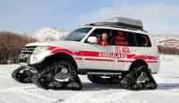 Doğu'da paletli ambulanslar acil hastalar için göreve hazır