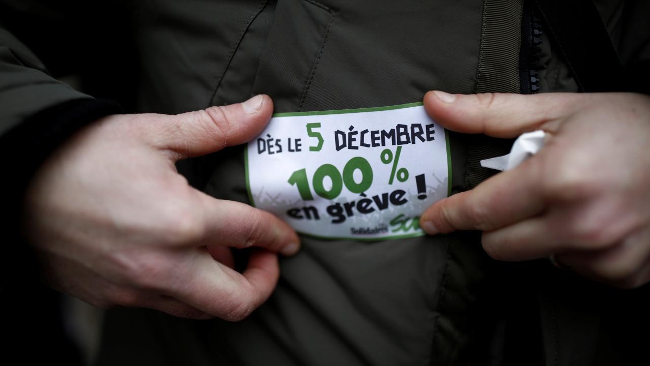 Fransada grev hayatı durdurdu