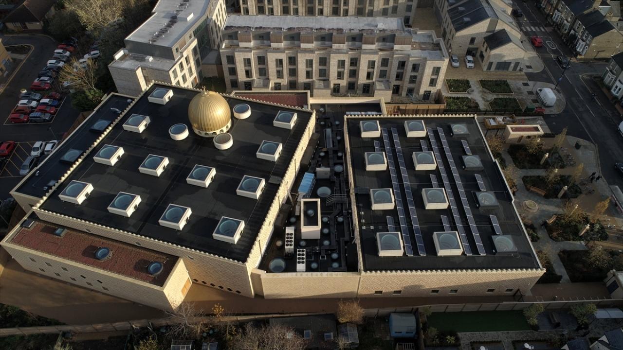 Erdoğanın açacağı Cambridge Camii, Avrupanın ilk çevre dostu camisi