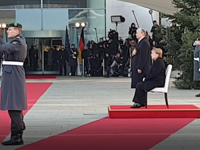 Merkel'in titreme nöbeti için önlem alınmaya devam ediliyor