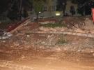 Şanlıurfa'da yağış nedeniyle okulun istinat duvarı çöktü